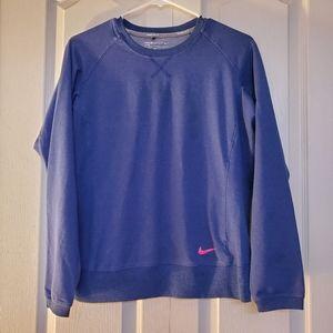 Nike Golf Sport Dri Fit Pullover Crew Neck Sweater